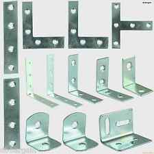 ANGLE CORNER BRACES BRACKET, STRAIGHT MENDING CORNER STRETCHER TEE PLATES ZINC