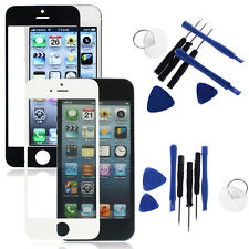 LCD Replacement Glass Front Screen Panel Cover + Tools for Apple iPhone Durable