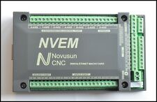 NVEM 200Khz CNC Ethernet Motor Controller Card Breakout Interface Mach3 Board