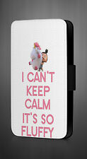 THE UNICORN I CAN'T KEEP CALM IT'S SO  NEW LEATHER FLIP PHONE CASE COVER  L739
