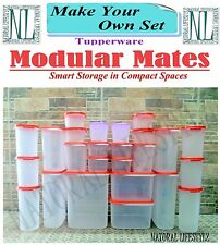 TUPPERWARE MODULAR MATES SET COMBO ROUND SQUARE OVAL SHAPE (MAKE YOUR OWN SET)