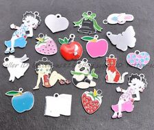 Charms Pendants Mixed Enamel Jewellery Making All kinds of Sizes