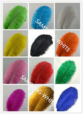 Wholesale!5-500pcs High Quality Natural OSTRICH FEATHERS10-16inch/25-40cm11color