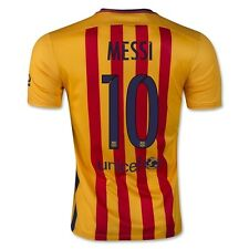 Barcelona Nike 15/16 Messi Away Soccer Jersey