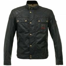NEW BELSTAFF CHAMPION FOUNDER'S COLLECTION WAXED COTTON BLOUSON JACKET - BLACK