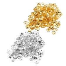 300pcs 6mm Vintage Copper Plated Flower Bead Caps Jewelry Making DIY Craft