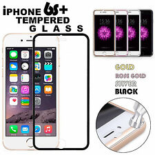 Full Edge to Edge Tempered Glass Screen Protector Curved For iPhone 6S Plus 5.5""