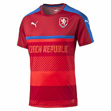 Puma Czech Republic UEFA Euro 2016 Soccer Training Jersey New Red