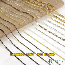 5 meters Chain width:1.5MM to 5MM Iron Chain Necklace Extended chain 16550