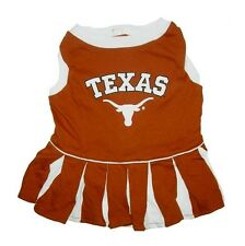 Texas Longhorns Dog Cheer Leading Outfit Officially Licensed NCAA Product