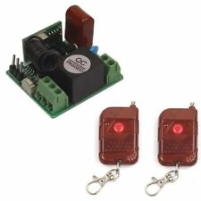 Hot Mini 220V 10A Relay 1CH 315/433 MHz Wireless Switch 2 Transmitter+Receiver