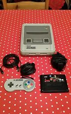 SNES console BUNDLE , FULLY WORKING , with game. Pal UK version