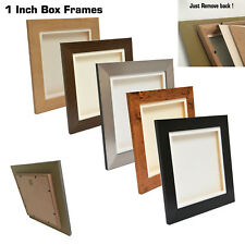 3D Deep Box Picture Frame Display Memory Box For Medals Scrabble + casts etc