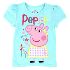 Peppa Pig Toddler Girls Short Sleeve Tee PPST208 2T 3T 4T