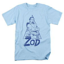 Superman Men's  Vintage Zod T-shirt Blue Rockabilia