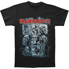 Iron Maiden Men's  Nine Eddies T-shirt Black