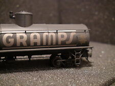 HOn3 BLACKSTONE B340656W ROAD # 55339 GRAMPS UTLX FRAMELESS TANK CAR WEATHERED