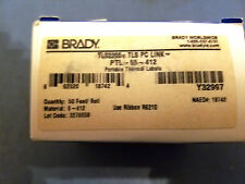 BRADY PTL-55-412 Thermal Label, 50 Ft. L x 2/9 In. W