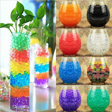 10bags Jelly Beads Water Plant Flower Crystal Soil Mud Water Pearls Gel Balls