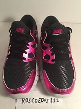 Nike Free Run 2 Premium Black Pink Womens Running Shoes 555340-002 Size 6.5-9