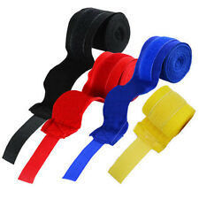 """Hand Wraps 138"""" Non Slip Boxing Bandage Inner Gloves Protection Tight Grip Pair"""