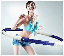 Weighted Hula Hoola Hoop Workout Fun Family Weight Calorie Fat Burning Exerciser