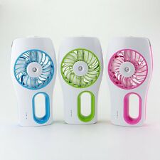 Handheld USB Mini Misting Fan with Personal Cooling Humidifier Portable Mini Fan