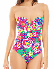 Lepel Womens Sun Kiss Underwired Bandeau Swimsuit