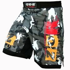 Camo Pro MMA Fight Shorts Camouflage UFC Cage Fight Grappling Muay Thai Boxing
