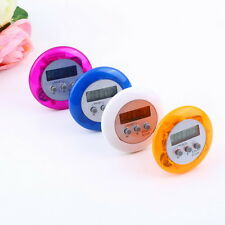New Cute Mini Round LCD Digital Cooking Home Kitchen Countdown UP Timer Alarm KG