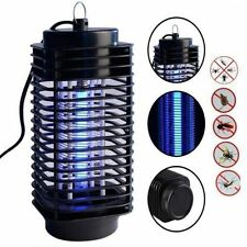 110V/220V Electric Mosquito Fly Bug Insect Zapper Killer With Trap Lamp Black KG
