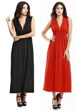 Women sleeveless summer beach Holiday Party Long Maxi bridesmaid dresses XL-4XL