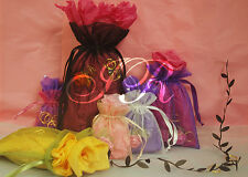 Organza Sheer Favor Bags Jewelry Pouches Wedding Favor Party - ALL SIZES