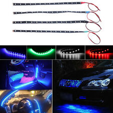Waterproof 30cm 15 LED Car Lighting Flexible Decorative Light Strip Bar KG