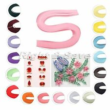 120 Stripes 17 Colors Quilling Paper Origami DIY Hand Craft Supply Gift 5x390mm