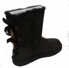 UGG AUSTRALIA WOMENS Bailey Bow  BOOTS chocolate STYLE 1002954