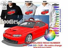 2006 HSV GTO COMMODORE COUPE HOODIE ILLUSTRATED CLASSIC RETRO MUSCLE SPORTS CAR