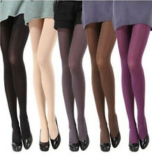 Sexy Socks Candy Color Womens Tights Slim Opaque Elastic Pantyhose Footed