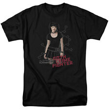 NCIS TV Show Abby Sciuto Picture Pigtails Goth Crime Fighter Tee Shirt S-3XL