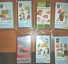 NEW! CRICUT CARTRIDGES SEALED IN PLASTIC CLAMSHELL - YOU CHOOSE! SOME RETIRED!
