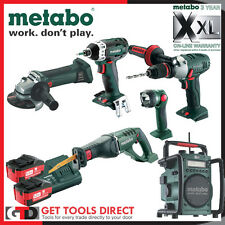 Metabo 18v Li-ion 6 Piece Cordless  Combo Kit MET606 3 Year Warranty