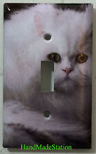 Persian Cat Toggle Rocker Switch Power Outlet Duplex Cover Plate Home decor
