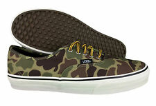 VANS. Authentic. Waxed Canvas. Camo Casual Mens Shoe. Various Sizes. 7.5 - 13
