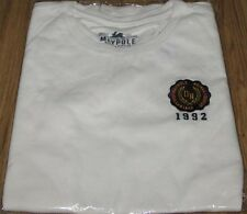SHINee MAYPOLE COLLEGIATE T ONEW WHITE T-SHIRT + POSTER NEW