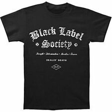Black Label Society Title T-Shirt SM, MD, LG, XL, XXL New