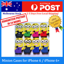 8Colors Despicable Me 2 3D Minions Soft Silicone Case Cover for Apple iPhone 6