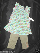 CALVIN KLEIN 2 Piece Outfit Set TODDLER Girl Size-2T or 4T NWT