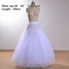 White/Black Petticoat 3 Layers Tulle High Quality Petticoats without Hoop