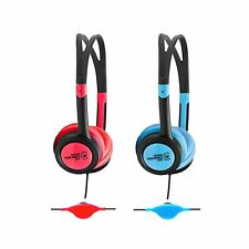 "Urbanz BUZZ Headphones Earphones for Kids Childrens iPad iPod MP3 ""Pack of 2"""