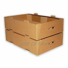 Vegetable Fruit & Herb Storage Packing Tray Fresh Produce Boxes 22 x 15 x 5.5""